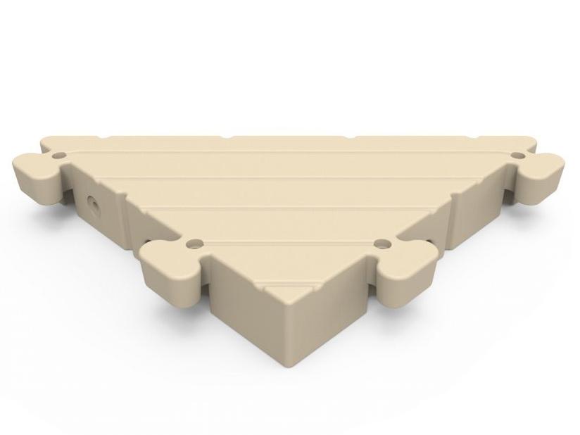 Hoekstuk steiger element 86x86x119 cm van EZ-Dock