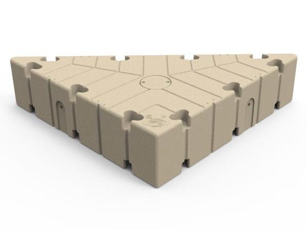 Tri Dock steiger element 150x150x250 cm van EZ-Dock